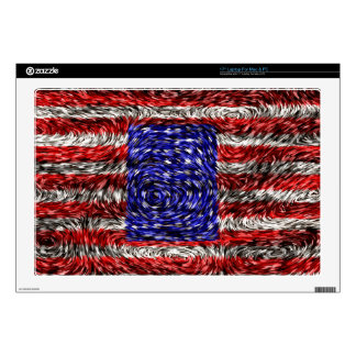 Van Gogh's Flag of the United States Skin For Laptop