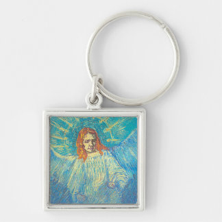 Van Gogh's 'Half Figure of an Angel' Keychain