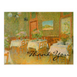 Van Gogh's Interior of a Restaurant Postcards