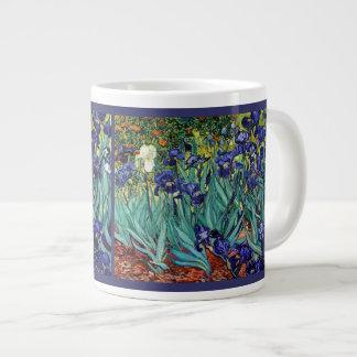 Van Goghs Irises Jumbo Mug. Large Coffee Mug