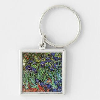 Van Gogh's 'Irises' Keychain