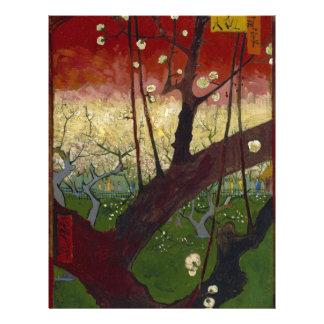 Van Gogh's Japonaiserie after Hiroshige Letterhead