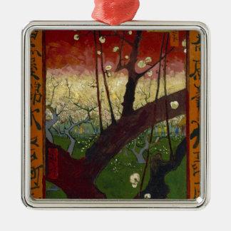 Van Gogh's Japonaiserie after Hiroshige Metal Ornament
