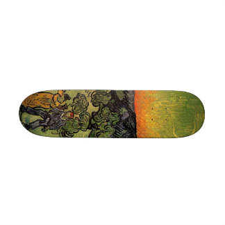 Van Gogh's 'Landscape w/ Couple Walking' Skate Deck