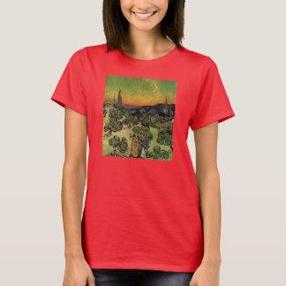 Van Gogh's 'Landscape w/ Couple Walking' T-Shirt