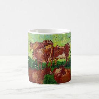 Van Gogh's 'Les Vaches' Mug