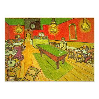 Van Gogh's 'Night Cafe' Invitation