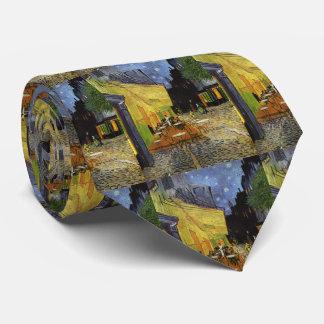 Van Gogh's Night Cafe Neck Tie