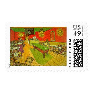 Van Gogh's 'Night Cafe' Stamps