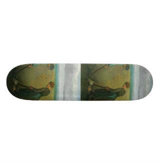 Van Gogh's Peasants or Farmers Planting Potatoes Skateboard Deck