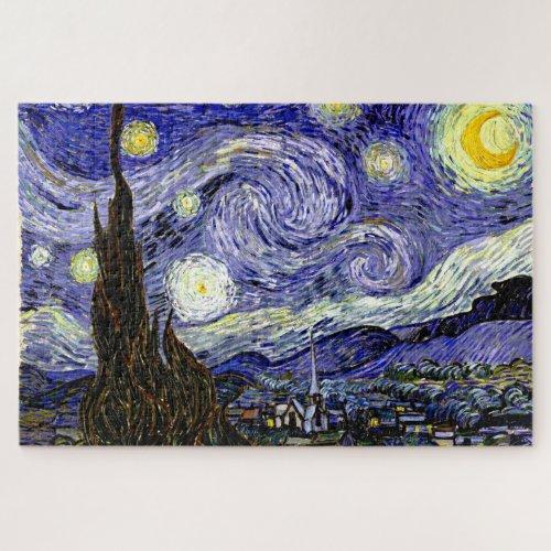 Van Goghs Starry Night 1889 Jigsaw Puzzle