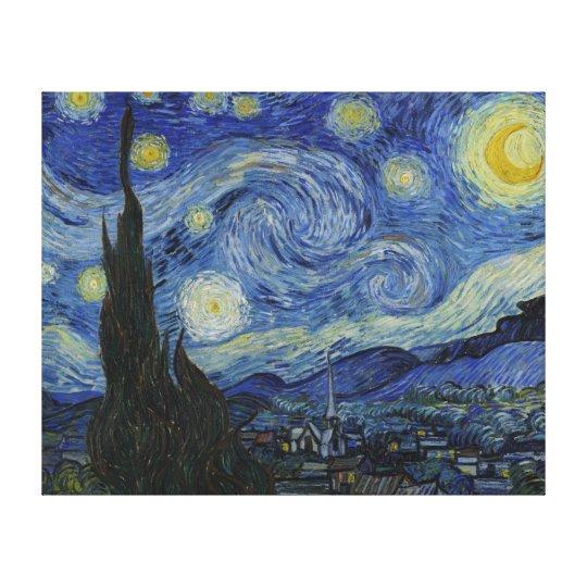 Van Gogh's Starry Night Extra Large Canvas Print