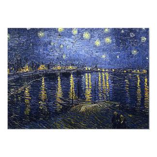 Van Gogh's 'Starry Night Over the Rhone' Card