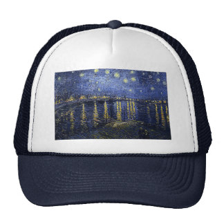 Van Gogh's 'Starry Night Over the Rhone' Hat