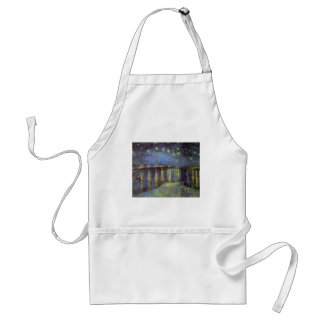 Van Gogh's Starry Night Painting Adult Apron