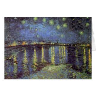 Van Gogh's Starry Night Painting Card