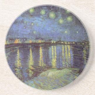 Van Gogh's Starry Night Painting Coaster