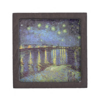 Van Gogh's Starry Night Painting Gift Box
