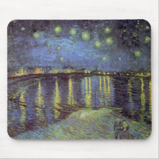 Van Gogh's Starry Night Painting Mouse Pad