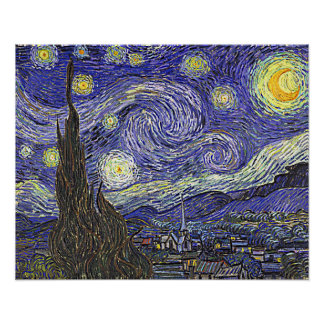 Van Gogh's 'Starry Night' Poster