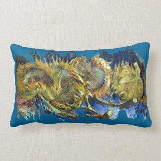 Van Gogh's Sunflowers Lumbar Pillow