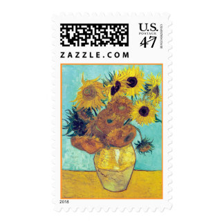 Van Gogh's Sunflowers Postage