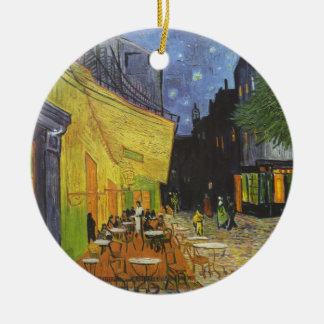 Van Gogh's Terrace Cafe Ceramic Ornament