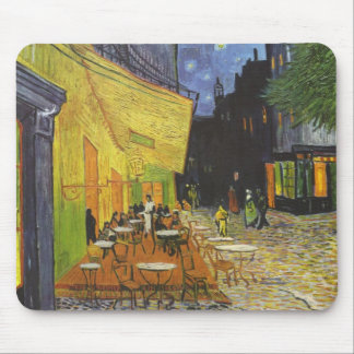 Van Gogh's Terrace Cafe Mouse Pad