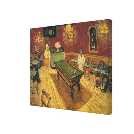Van Gogh's The Night Café (Le Café de nuit) 1888 Gallery Wrapped Canvas
