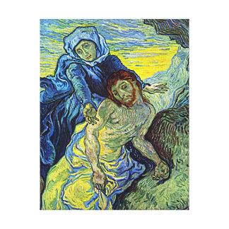 Van Gogh's 'The Pieta' Canvas Print