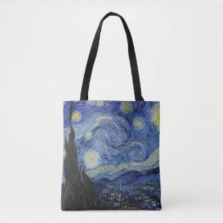 Van Gough Starry Night Tote Bag