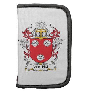 Van Hal Family Crest Organizer