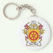 Van Heel Family Crest Keychain