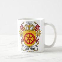Van Heel Family Crest Mug