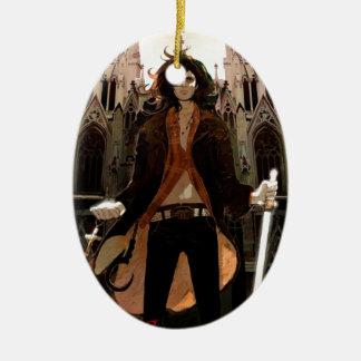 Van Helsing: Young, Sexy Version Ceramic Ornament