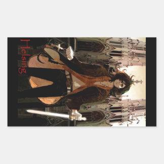 Van Helsing: Young, Sexy Version Rectangular Sticker