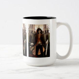 Van Helsing: Young, Sexy Version Two-Tone Coffee Mug