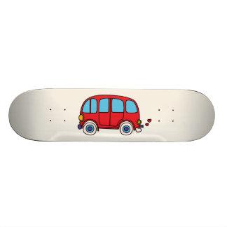 Van hippie skateboard deck