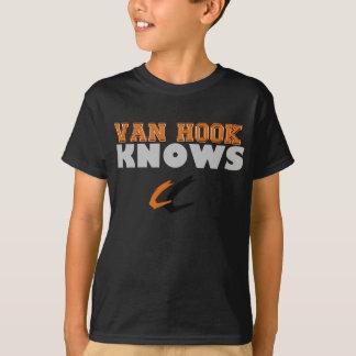Van Hook KNOWS  football youth shirt