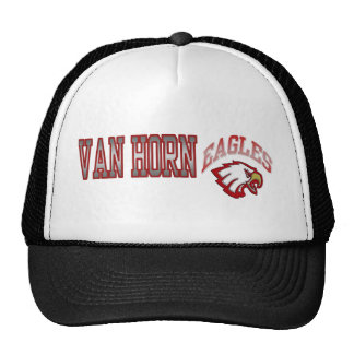 Van Horn Eagles se divierte el casquillo Gorra