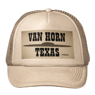 van Horn Texas UFO Trucker Hat EDL011415