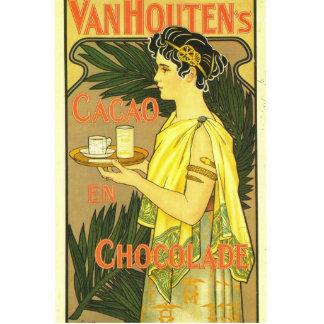Van Houten's Chocolade Art Nouveau Statuette