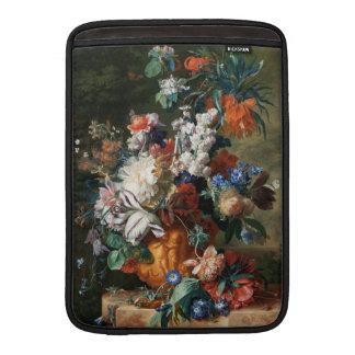 """Van Huysum's Bouquet of Flowers 13"""" MacBook sleeve"""