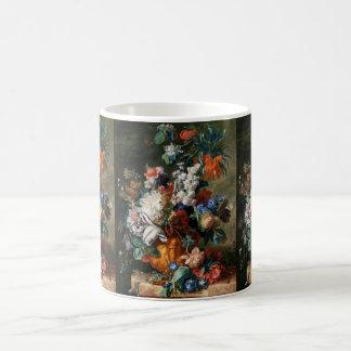 Van Huysum's Bouquet of Flowers mug - choose style