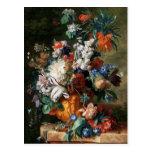Van Huysum's Bouquet of Flowers postcard
