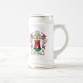 Van Ingen Family Crest Coffee Mugs