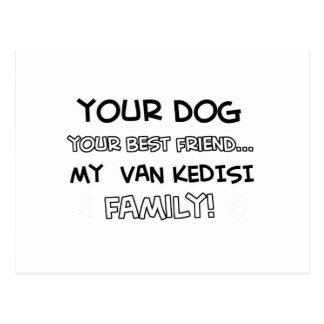 Van Kedisi is family designs Postcard