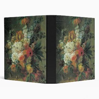 Van Leen Flowers and a Bird's Nest Binder