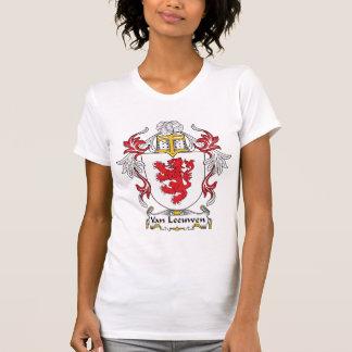 Van Leeuwen Family Crest Tee Shirts