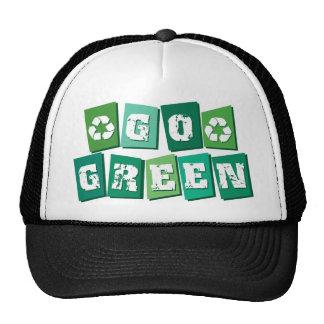 Van los bloques verdes gorro de camionero